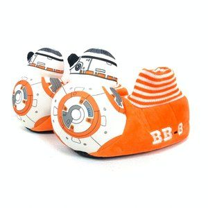 3/$25 Kids Official Stars Wars BB-8 Slippers 11/12